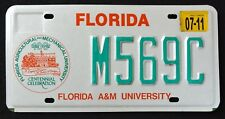 "FLORIDA "" A & M UNIVERSITY - CENTENNIAL "" FL Specialty Graphic License Plate"