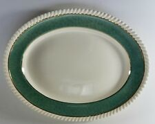 """Johnson Brothers Powder Border Oval Platter, 12 1/4"""", Multiples Available"""
