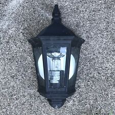 Traditional Black outdoor wall Mounted Mains light