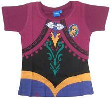 Official Disney Frozen Anna Dress Print T-shirt 2-3 Years