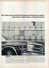 Audi-Super-90-1967-Reklame-Werbung-genuine Advert-La publicité-nl-Versandhandel