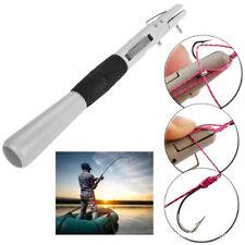 Manual Fishing Tackle Hook Line Tier Abs Fishhook Knotter Fasten Binding Tool