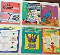 Language Arts Reading Writing Student Activity Books Grades 3-6  Lot of 6 Books