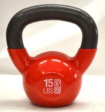 GoFit Balance Premium Vinyl Kettleball Kugelhantel 6 8kg mit Trainings-dvd