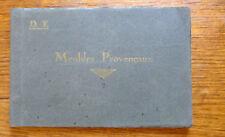 Catalogue MEUBLES PROVENCAUX Maison Dervieux Frères Arles Début XX°
