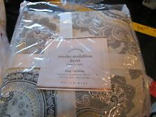 Pottery Barn Ainsley Medallion King Duvet New with tags