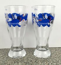 Christian Lacroix Kronenbourg 1664 Limited Edition Beer Glass 50cl Set 2 Glasses