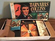BARNABAS COLLINS DARK SHADOWS GAME MILTON BRADLEY Complete w/ fangs