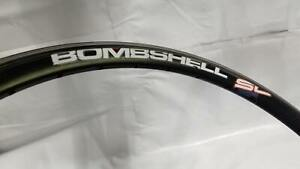 "Bombshell SL 20x1-1/8"" Rim - Black 36H"
