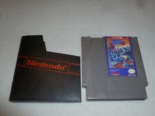 NINTENDO NES GAME MEGAMAN 3 CARTRIDGE RARE CAPCOM W DUST COVER MEGA MAN CART >>>