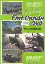 1980 ? Fiat Panda 4x4 Brochure German wn5848-4FTLI1