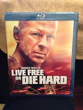 Brand New Sealed! Live Free Or Die Hard Blu-Ray 2007 Bruce Willis Fast Shipping!