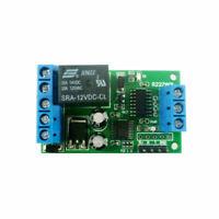 1 Canal 2 En 1 Rele 12 V Rs232 Ttl232 Dc Modulo Interruptor De Control Remo X9K8