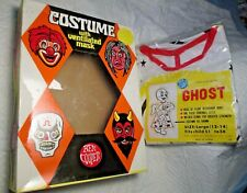 """Vintage BEN COOPER GHOST SUIT HALLOWEEN COSTUME large child 51"""" 60 56"""" tall"""