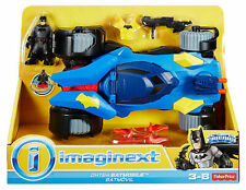 Fisher-Price Imaginext DC Super Friends Batman & Batmobile New