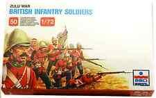 ESCI ERTL # 212 - 1/72 scale Zulu War British Infantry Soldiers - mint boxed set