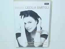"""*DVD-MARIA CECILIA BARTOLI""""THE BARCELONA CONCERT & MALIBRAN REDISCOVERED""""-2008*"""