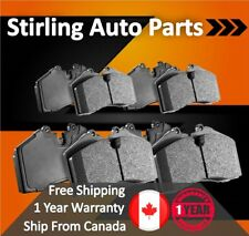 Centric Front Rear Ceramic Brake Pads 2SET For Mitsubishi Diamante