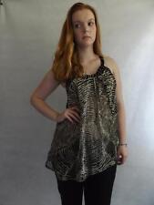 Markenlose klassische ärmellose Damenblusen, - tops & -shirts ohne Kragen