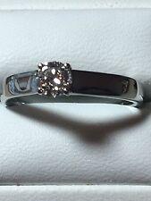 Platinum Diamond Ring. Size. N1/2. U.S. size 71/4