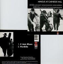 CHARLIE MINGUS  at Carnegie hall