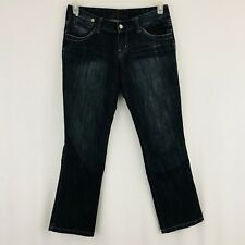 GUESS Jeans Skinny Leg Ankle Length Size 27 Dark Blue Gray Wash