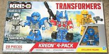 Transformers Kreon 4-Pack Universal Studios Exclusive Evac Optimus Megatron +