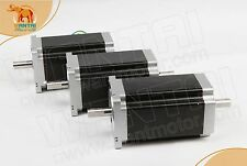 Wantai 3PCS Nema34 Stepper Motor Dual Shaft 85BYGH450C-012B 1600oz-in 151mm 3.5A