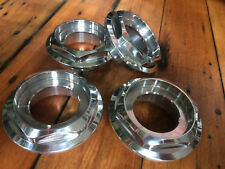 4x BBS RS fitment - NEW hex nuts / center caps - Half Hight (72)