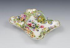 Minton Flower Encrusted Porcelain Clarence Basket - Godden Collection