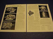 U S Electrical Motors Asbestos US Electric Catalog 1941 Ad