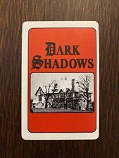 Dark Shadows Single Swap Playing Card - Vintage