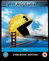 Pixels (Limited Edition Steelbook) [Blu-ray] [Region Free] [DVD][Region 2]