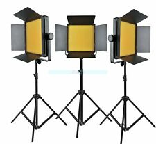Godox 3000 3X 1000 LED Studio Continuous Light Kit For Video Wedding 3300-5600