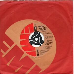 """QUEEN - Another One Bites The Dust - 7"""" Vinyl Single *EMI 5102* *Jukebox* A1/B1"""