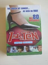 1st & Ten - 80 EpisodeS Complete DVD Collection All 6 Seasons  NEW/SEALED