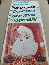 Vintage Leather Magazines 'The Craftsman' Volume 15 Numbers 1-6.