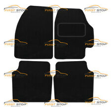 NISSAN PRIMERA 2003 ON FULLY TAILORED CLASSIC CAR FLOOR MATS BLACK