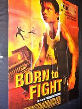 BORN TO FIGHT   affiche cinema karate kung -fu