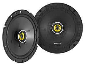 "Pair KICKER 46CSC674 6.75"" 6-3/4"" 600w 4-Ohm Car Audio Coaxial Speakers CSC674"