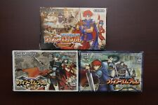 Game Boy Advance Fire Emblem + Binding Blade + Sacred Stones boxed JP GBA games