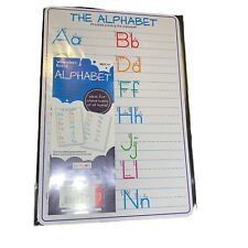 Dry Erase Board Practicing The Alphabet Printing Letters New