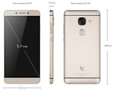 "LeTV LeEco Le Max 2 X829 4G Android 6.0 5.7"" 2K 4GB RAM 64 Snapdragon 820 SILVER"
