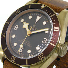 TUDOR 79250BM BLACK BAY BRONZE 43 mm TUDOR HERITAGE BRONZE BROWN LEATHER 79250BM