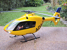 Ec-135 ADAC/450er mécanique/4 feuilles de tête de rotor-RTF avec HELICOMMAND rigidv 2