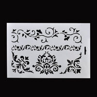 DIY Craft Flower Layering Stencils for Walls Panting Scrapbooking Paper Cards