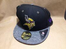 New Era 59Fifty Fitted Cap - Black/ Gray Minnesota Vikings