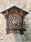 Antique Germany Black Forest Strike Cuckoo Clock,For Part And Restoration