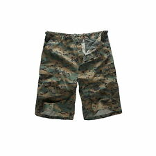 Mens Army Military Combat Cargo Shorts Outdoor Camping Fashion Walk Long Shorts