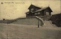 Raversyde-sur mer Kaiserliche Marine Feldpostkarte Chalet de S.M. le Roi 1916